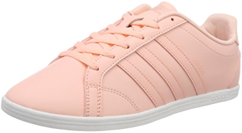 adidas VS CONEO QT W - Zapatillas Deportivas para Mujer, Rosa - (CORNEB/CORNEB/FTWBLA) 36