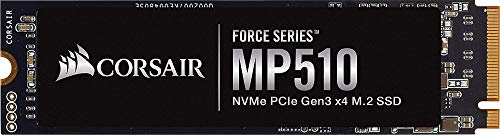 Corsair Force MP510 1920 GB NVMe PCIe Gen3 x4 M.2-SSD (bis zu 3480 MB/s)