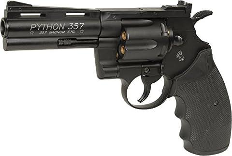 Airsoft KWC Colt Python 4 pouces Trishot contest edition