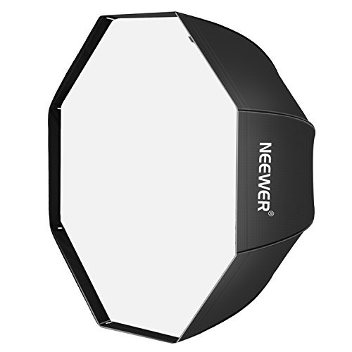 Neewer 32'/ 80cm Octagonal Schirm-Softbox für Speedlite, Studio-Blitz, Blitzgerät mit Tragetasche für Portrait- oder Produktfotografie