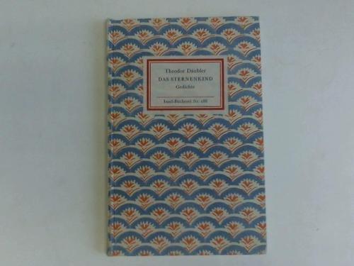 Das Sternenkind. Gedichte [Insel-Bücherei Nr. 188]