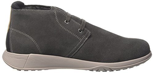 Lumberjack Winter Houston, Stivali Chukka Uomo Grigio (Dk Grey)