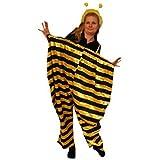 Bienen-Kostüm als XL Hose, TO75/00 Gr. L - XL, Bienen-Kostüme Biene Hummel Kostüme Bienen-Faschingskostüm, Fasching Karneval, Faschings-Kostüme, Fasnachts-Kostüme Tier-Kostüm, Erwachsene