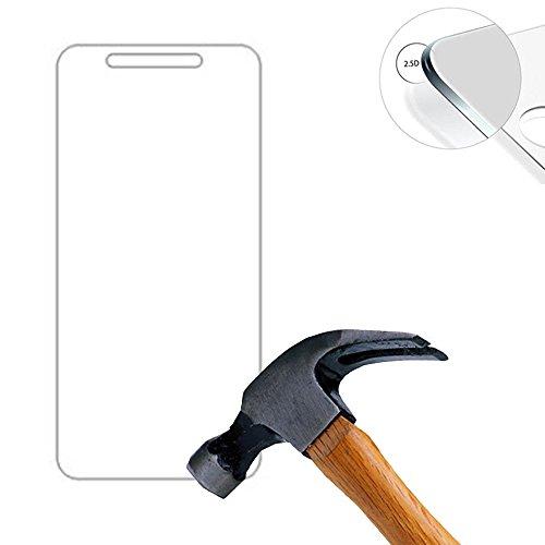 Lusee® 2 X Pack Panzerglasfolie Tempered Glass Hartglas Schutzfolie für Elephone Trunk 5.0 Zoll Premium Screen Folie Protector Ultra Hart Bildschirmschutz 0,3mm 9H Clear 2.5D