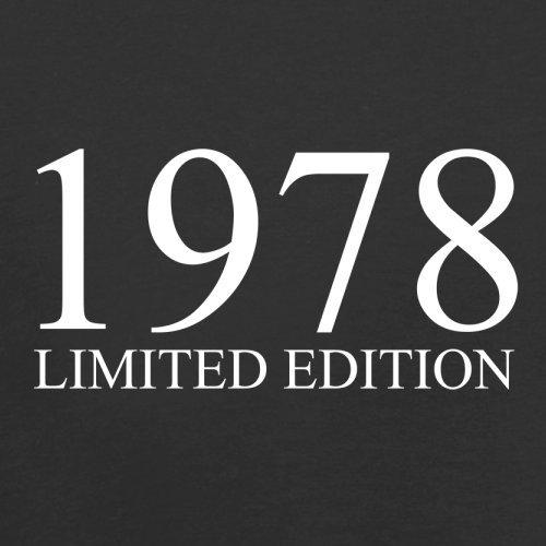 1978 Limierte Auflage / Limited Edition - 39. Geburtstag - Damen T-Shirt - 14 Farben Schwarz