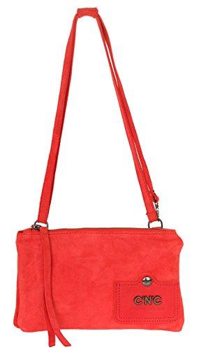 C'N'C Costume NATIONAL Damen Shoulder Bag Pochette Rot 104N5B0A-80717 (C'n'c Costume National)