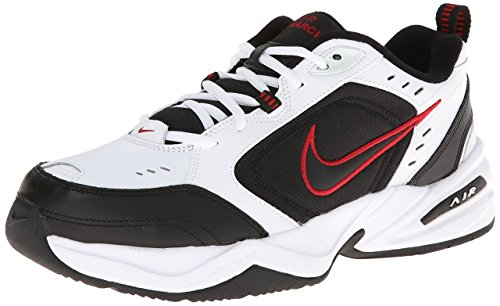 Hommes Air Monarch Iv Running Shoe White / Black-Varsity Red