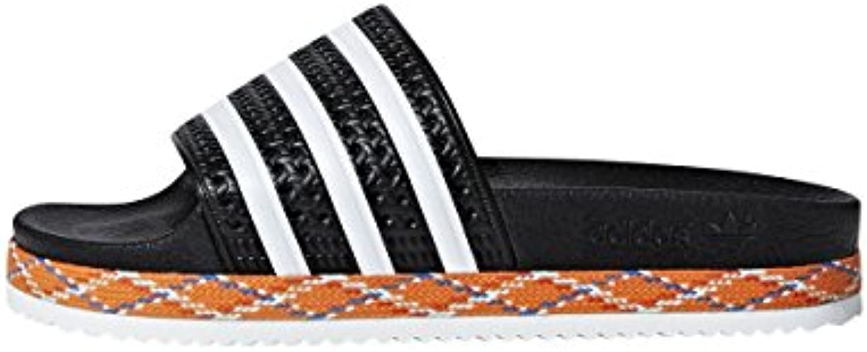 Adidas Adilette New Bold W, Zapatos de Playa y Piscina para Mujer