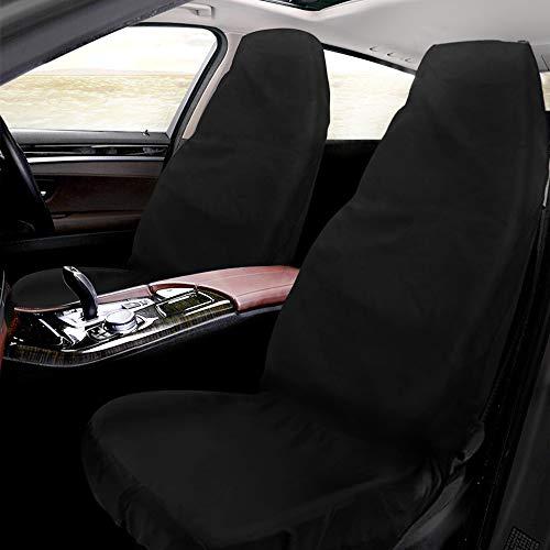 mixigoo Schonbezug Autositz, Sitzbezug Wasserdicht Autositzbezüge aus Oxford-Gewebe, Universal Werkstattschoner für Vordersitze Fahrersitz, 145 x 50cm (1 Stück)
