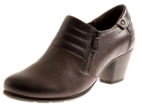 Jana Hochfrontpumps Lederschuhe 8-24441 Leder Schuhe Damen Business H EU 36