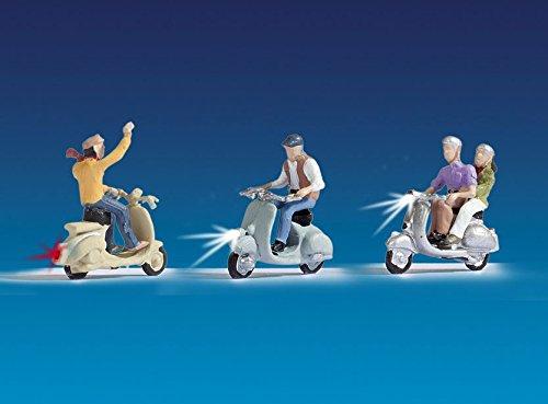 NOCH Todavía 17002-Juguetes, fop de Pack Iluminado Motor Motociclistas
