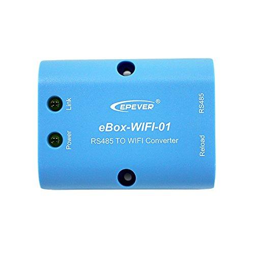 epever ebox-wifi-01 RS485 zu WLAN-Adapter Conventer Kommunikation Wireless Überwachung von Handy App für Solar Controller