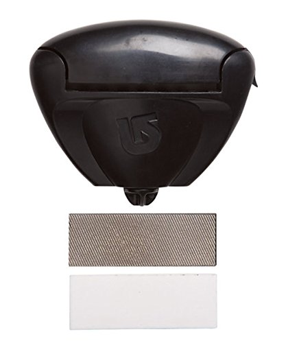 Side Edge Bevel (Burton Kantenschleifer File Guide Translucent Black, one size)