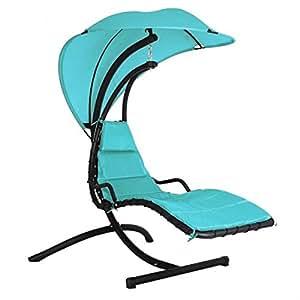 Torino Hanging Gargen Chair Turquoise
