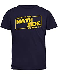 Old Glory Come To The Math Side We Have PI Mens T Shirt