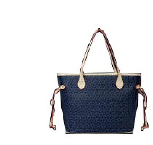 PACK Dreiteilige Taschenpaket Handtaschen Europa Und Die Vereinigten Staaten Mode Freizeit Tide Arrows Taschen,A:WineRed B:Blue