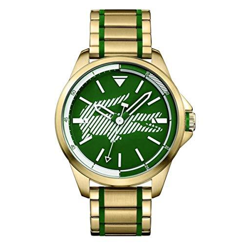 Lacoste Men's Capbreton Two Tone Steel Bracelet Quartz Analog Watch 2010962