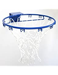 FORZA Wall Mounted Netball Ring - 38cm Steel Netball Hoop - Attachment Plate & Fixing Bolts Included