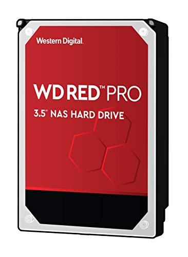 WD Red Pro 2TB interne Festplatte SATA 6Gb/s 64MB Cache 8,9 cm 3,5 Zoll 24x7 7200Rpm optimiert für SOHO NAS Systeme 1-16 Bay HDD BULK WD2002FFSX - Wd 2 Tb Hdd Red