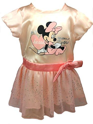 (Disney Minnie Mouse Baby Mädchen Kleid Gr. 68,74,80,86 Größe 68)