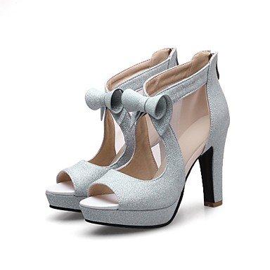 Zormey Frauen Heels Fr¨¹hling Sommer Club Schuhe Gladiator Formelle Schuhe Komfort Neuheit Hellen Sohlen Angepasste Materialswedding B¨¹ro & Amp Karriere US7.5 / EU38 / UK5.5 / CN38