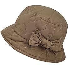 Fiebig Sombrero De Pesca Para Mujer Pescador Gorro Impermeable Resistente  Al Agua Acolchado Con Lazo Mujeres fb073d7232d