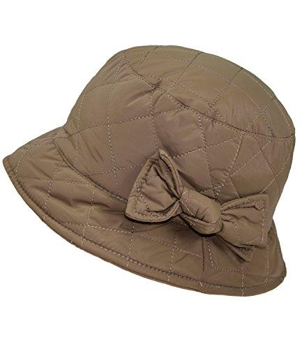 EveryHead Fiebig Sombrero De Pesca para Mujer Pescador Gorro Impermeable  Resistente Al Agua Acolchado con Lazo 2885fd614dd