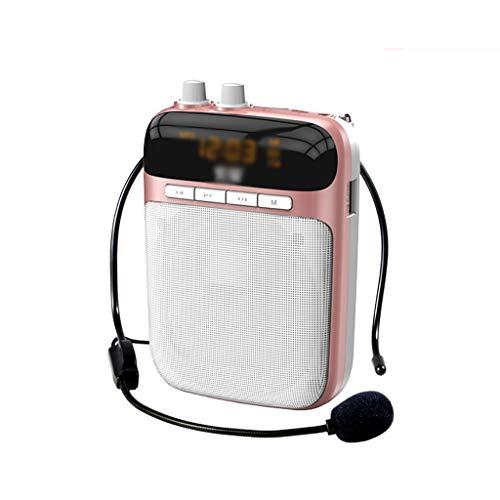 echer Kleine Biene Portable High Power Bluetooth Lehrer gewidmet Wireless Megaphon (Farbe : B) ()