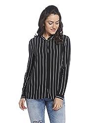 ONLY Womens Body Blouse Shirt (15127302-Black_40)