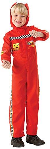 Disney - I-884665S - Déguisement - Costume Flash Mc Queen - Taille S