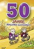 Archie Geburtstagskarte zum 50. Geburtstag Junge Mädchen gelb Glückwunschkarte Kinder