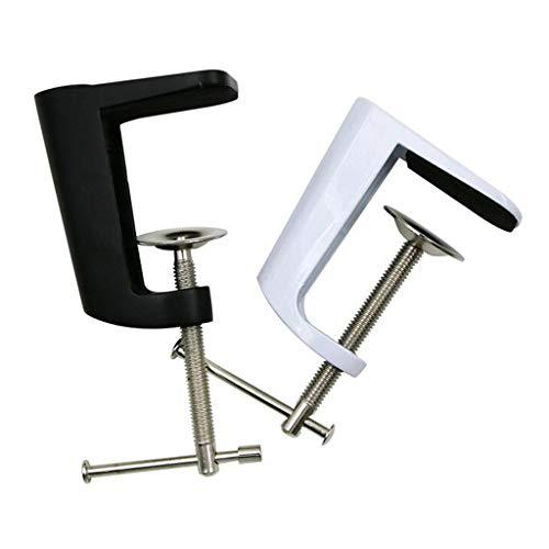 2Stück verstellbar Tischklemme Klemme für tischlampe Schreibtisch Lampe Zubehör Set -