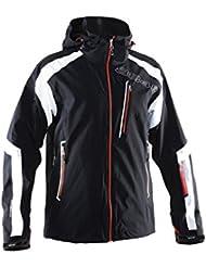 8848Altitude Frame Jacket Men Black, color , tamaño XXL