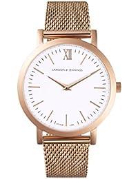 Larsson & Jennings Damen-Armbanduhr LGN33-CMRG-C-Q-P-RGW-O
