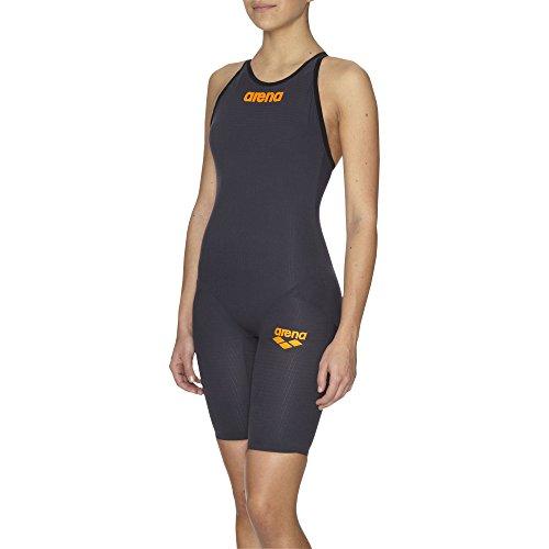 ARENA Damen Wettkampfanzug Powerskin Carbon Pro, Dark Grey, 26
