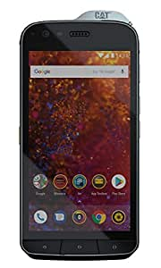 Caterpillar cs61 DAB-ROW – en Cat S61 Smartphone (13,21 cm (5,2 pollici), display FHD IPS, 64 GB di memoria interna e 4 GB di RAM, Dual SIM, IP68 & Mil Spec 810 G Standard, Android 8.0) nero