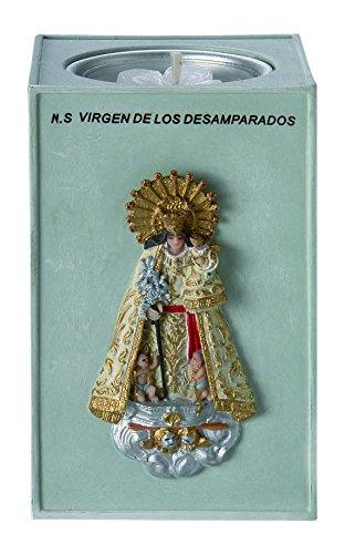 Nadal Figura Decorativa Virgen de los desamparados, Resina, Multicolor, 6.00x6.00x9.60 cm