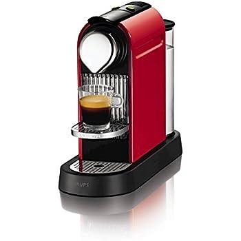Nespresso Citiz Coffee Machine Fire Engine, Red by Krups