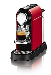 Nespresso CitiZ by Krups XN720540 Coffee Machine - Fire Engine Red