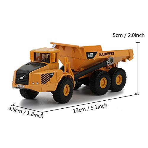 Dump Lxwm Truck Alloy 187 Simulation Juguetes De Modelos XwZilkOPTu