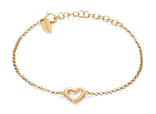 Imagen de pulsera viceroy jewels 6006p100 07 corazón plata dorado