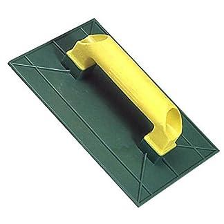 Wolfpack 2270005 Talocha plástico Lisa 275×155 mm.amarilla