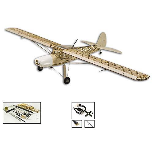 DW Hobby 163 cm Balsa-Holz-Flugzeug Fi156 Storch 1,6 m Elektro-Holz-Modell-Flugzeug-Kit muss gebaut Werden; Fernsteuerungs-Flugzeug-Set für Erwachsene