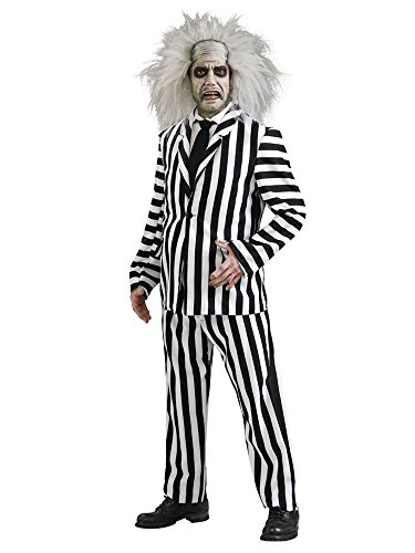 "Adult Deluxe Beetlejuice Costume XL (44-46"" Chest)"