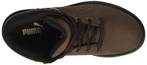 Puma Desierto Fun, Bottes mi-hauteur non doublées mixte adulte Marron - Braun (chocolate brown-chocolate brown 02)