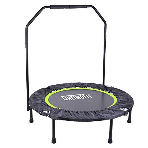 OneTwoFit 40' Trampolín Plegable Fitness Resistente y...