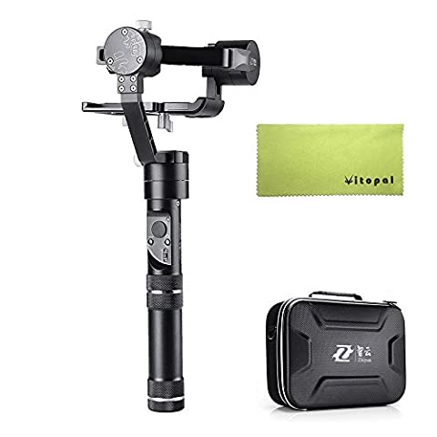 Zhiyun Crane M Handheld 3 Axis Brushless Gimbal 125 g to 650 g Payload for Smartphones/Action Cameras/DC/Mirrorless Cameras