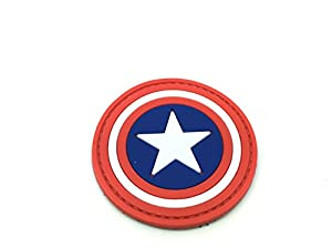 Captain America Cosplay PVC Airsoft Fan Patch