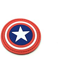 Capitán América cosplay PVC Airsoft Velcro Patch