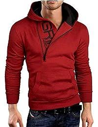 Sudadera con Capucha Casual Invierno Hombres Otoño Deportes Hip Hop  Streetwear Swag Sudadera Esencial con Capucha 387389d8898
